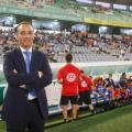 José Luis Oltra, con el CD Tenerife, ante el Córdoba CF. / FOTO: LaLiga