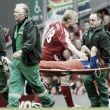 Borja Oubiña: el tormento de sus lesiones