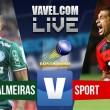 Jogo Palmeiras x Sport ao vivo online no Campeonato Brasileiro 2016 (0-0)