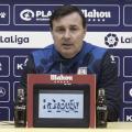 """Cristóbal Parralo: """"Visitamos a un equipo de entidad, en un estadio que empuja mucho"""""""