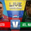 Deportivo Pasto vs Atlético Nacional en vivo y en directo online por la Liga Águila 2017-II (1-0)