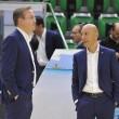 Caos Sassari: Calvani dimissionario tra le lacrime, squadra a Pasquini, playoff a rischio. Sardara si sfoga