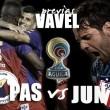 Previa Deportivo Pasto vs Atlético Junior: el 'tiburón' a por el triunfo en tierras nariñenses