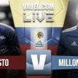 Resultado Pasto vs Millonarios en en Liga Águila 2016 II (1-1)
