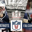 New England Patriots vs Atlanta Falcons en la Super Bowl 2017
