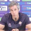 Fiorentina, la gioia di Paulo Sousa