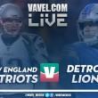 Detroit Lions vs New England Patriots en vivo online en Semana 3 NFL 2018