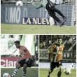 Podio del triunfo: Navarro, Cecchini y Bertolo
