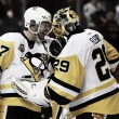 Pittsburgh Penguins shut out Washington Capitals to reach Eastern Conference Finals
