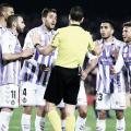 El Real Valladolid plantó cara pese a un penalti dudoso en contra