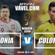 Polônia e Colômbia apostam na redenção de seus craques para sobreviver na Copa