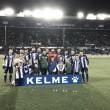 El Alavés asoma la cabeza, gracias a vencer a Las Palmas