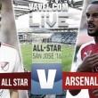 Resultado MLS All-Stars vs Arsenal en el MLS All-Star 2016 (1-2)