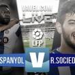 En vivo: Espanyol 0-0 Real Sociedad online en Primera División 2016