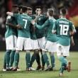 Alemania y España pactaron a un gol