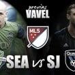Previa Seattle Sounders FC - San Jose Earthquakes: cumbre por el PlayOff