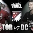 Previa Toronto FC - DC United: trío de ases bajo la manga