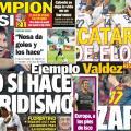 Las portadas del 20 de septiembre de 2012