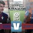 En vivo: Eibar 2-0 Levante 2016 en Primera División online