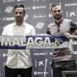 David Lombán, presentado como nuevo jugador del Málaga CF