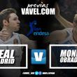 Previa Real Madrid - Monbus Obradoiro: diferencia abrumadora