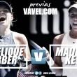 Previa Angelique Kerber - Madison Keys: estilos contrapuestos en busca de las semis