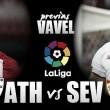 Previa Athletic Club de Bilbao - Sevilla FC: los sevillistas no querrán oír los rugidos del león