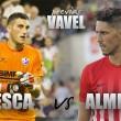 Previa Huesca - Almería: ansiedad por la victoria