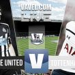 Newcastle vs Tottenham en vivo y en directo online en la Premier League 2015 (0-0)
