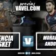 """Previa Valencia Baket Club vs MoraBanc Andorra: cuando Europa se convierte en un """"rompepiernas"""""""