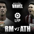 Real Madrid CF - Athletic Club de Bilbao: necesidad de victoria