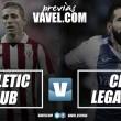Previa Athletic Club – CD Leganés: generar ilusión