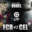 FC Barcelona- Celta de Vigo: un partido para enamorados del buen fútbol