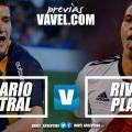 Previa Rosario Central - River Plate: una parada difícil para el Canalla