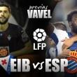 Eibar - Espanyol: Galca busca su primera victoria como visitante