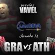 Granada CF - Athletic: un juicio complicado