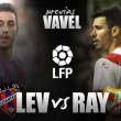 Levante Ud - Rayo Vallecano SAD: Urge la victoria en el Ciutat