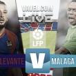 Resultado del Levante UD vs Málaga CF en Liga 2015 (0-1)