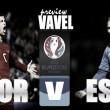 Portugal - Estonia: prefacio a la Eurocopa