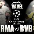 Previa Borussia Dortmund - Real Madrid: el reto de los blancos