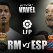 Real Madrid - RCD Espanyol: nada que perder, pero con urgencias por ganar