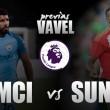 Previa Manchester City - Sunderland: primer examen para Guardiola y Moyes