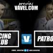 Previa Racing Club - Patronato: choque de goles