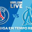 Jogo PSG x Olympique Marseille AO VIVO hoje pela Ligue 1
