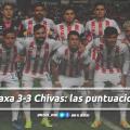 Puntuaciones de Necaxa en la jornada 6 de la Liga MX Clausura 2019