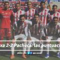 Puntuaciones de Necaxa en la jornada 15 de la Liga MX CL19
