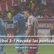 TM Fútbol 3-1 Necaxa: puntuaciones de Necaxa en la jornada 4 de la Copa MX Apertura 2018