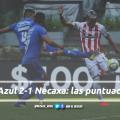 Puntuaciones de Necaxa en la jornada 9 de la Liga MX CL19