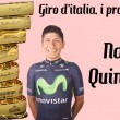 Giro d'Italia 2017, i favoriti: Nairo Quintana
