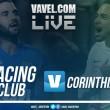 Resultado Racing vs Corinthians en vivo por Copa Sudamericana 2017 (0-0)